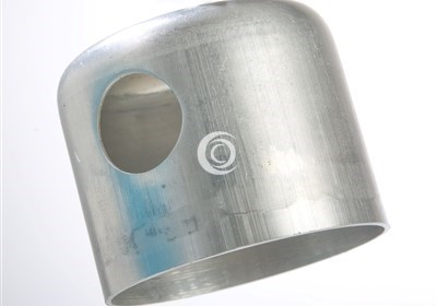 Aluminium caps for immersion heaters