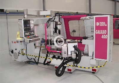An example of our CNC machinery: Nova Sidera Galileo 400 spinning lathe